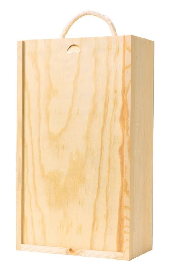 2 Bottle Wooden Gift Box