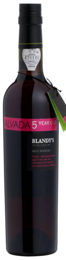 Blandy's Alvada 5 Years Old Madeira