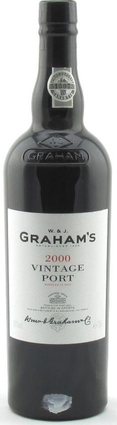 Graham's Vintage Port 2000 – Half bottle