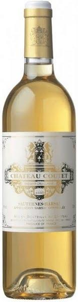 Château Coutet 2005, 1er Cru Sauternes Barsac