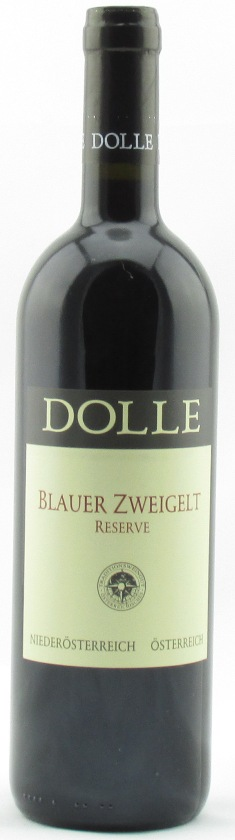 Peter Dolle Blauer Zweigelt Reserve 2011, Case of 6 bottles