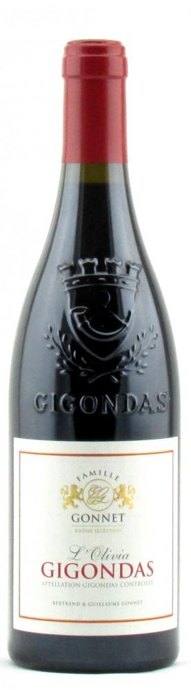 Gigondas l'Olivia 2014, Gonnet Family