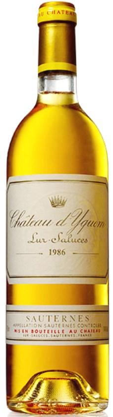 Chateau Yquem 1986 Sauternes