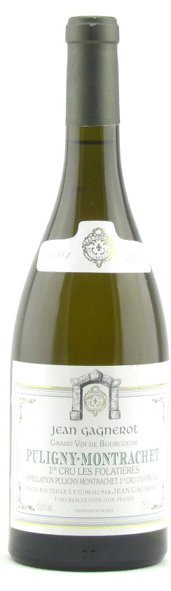 Puligny Montrachet Les Folatieres 2011, Domaine J Gagnerot SOLD OUT