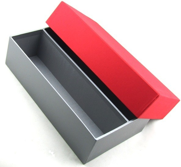 Luxury Red & Silver Gift Box