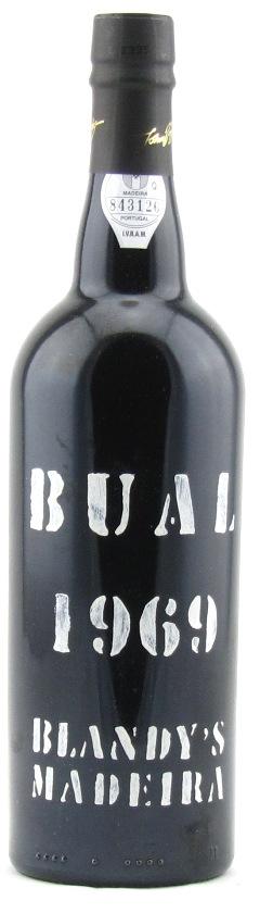 Blandy's Bual Vintage Madeira 1969