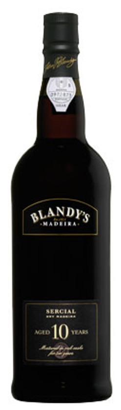 Blandy's Sercial 10 Years Madeira – 50cl