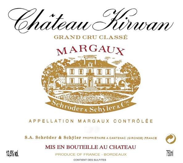 En Primeur Chateau Kirwan 2017, Case of 12x75cl IB