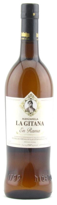 Hidalgo Manzanilla La Gitana En Rama, Sherry