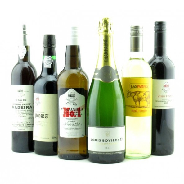 El Vino Mix, Mixed Case of 12 bottles
