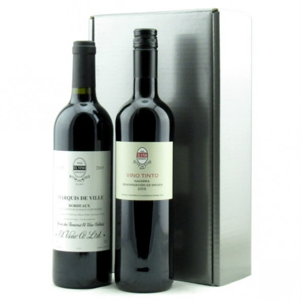 The El Vino Duo Gift Box