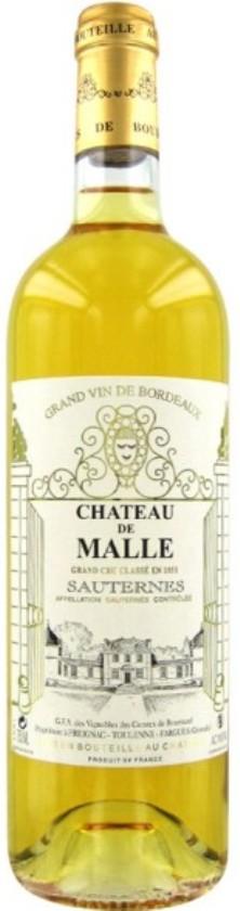 Château de Malle 2009, 2eme Cru Classé Sauternes