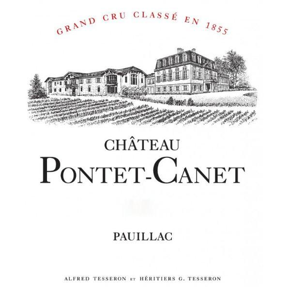 En Primeur Chateau Pontet Canet 2017, Case of 12x75cl IB