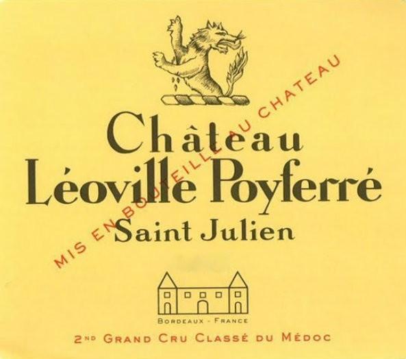 En Primeur Chateau Leoville Poyferre 2017, Case of 12x75cl IB