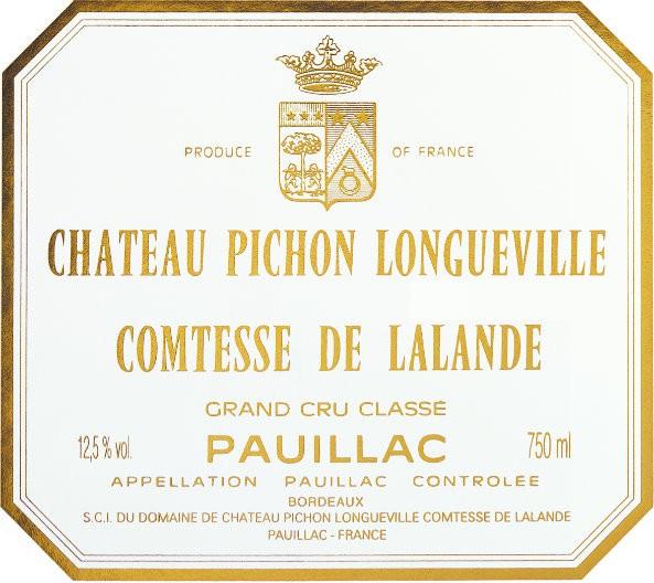 En Primeur Chateau Pichon Lalande 2017, Case of 12x75cl IB