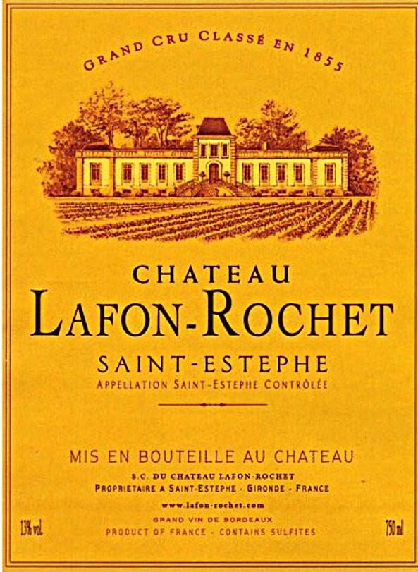 En Primeur Chateau Lafon Rochet 2017, Case of 6x75cl IB