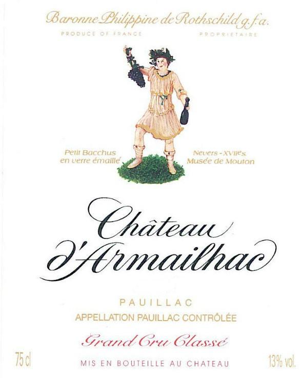 En Primeur Chateau d'Armailhac 2017, Case of 6x75cl IB