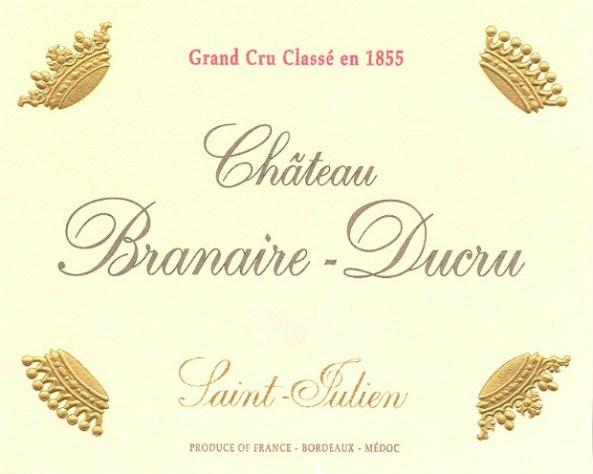 En Primeur Chateau Branaire Ducru 2017, Case of 12x75cl IB