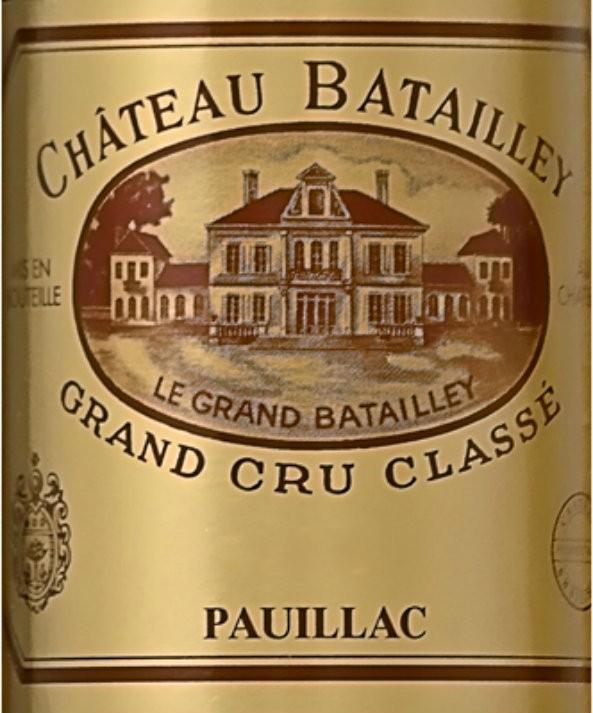 NEW RELEASE En Primeur Chateau Batailley 2016, Case of 12x75cl IB