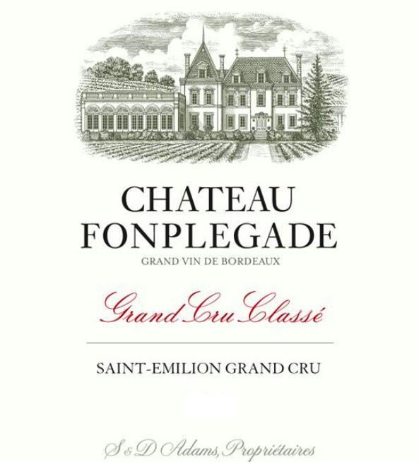 En Primeur Chateau Fonplegade 2017, Case of 6x75cl IB