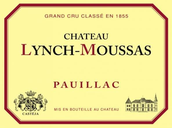 En Primeur Chateau Lynch Moussas 2017, Case of 12x75cl IB