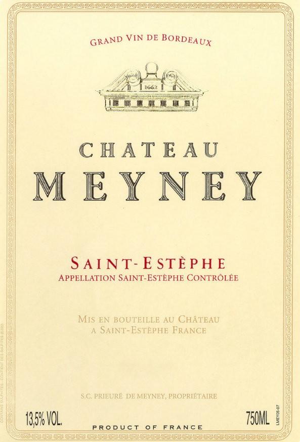 En Primeur Chateau Meyney 2017, Case of 12x75cl IB