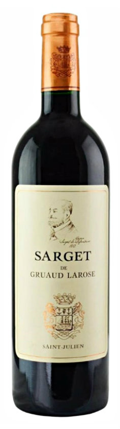 Sarget de Gruaud Larose 2010, 2nd Wine of Château Gruaud Larose St Julien SOLD OUT