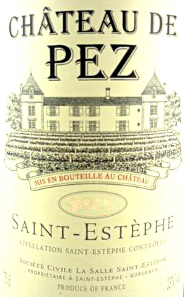 En Primeur Chateau de Pez 2017, Case of 12x75cl IB