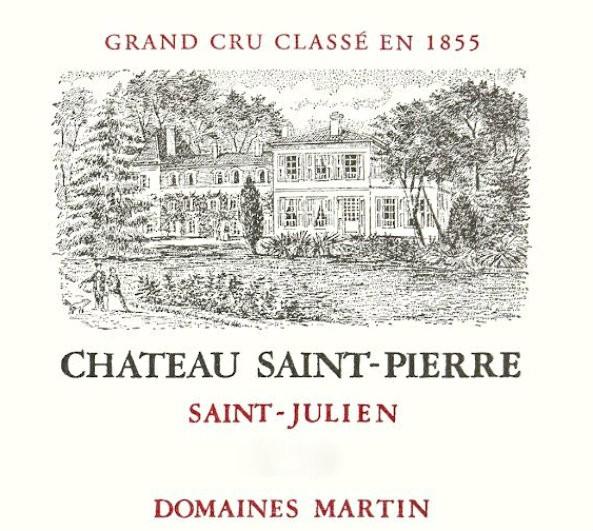 En Primeur Chateau Saint Pierre 2017, Case of 12x75cl IB