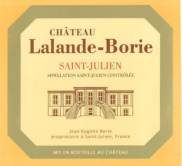NEW RELEASE En Primeur Chateau Lalande Borie 2016, Case of 12x75cl IB