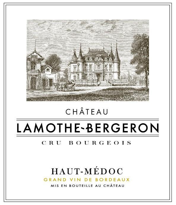 En Primeur Chateau Lamothe Bergeron 2017, Case of 12x75cl IB