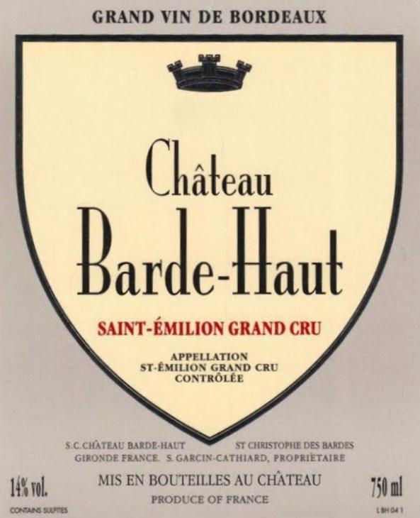 En Primeur Chateau Barde Haut 2017, Case of 12x75cl IB