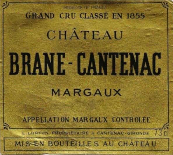 En Primeur Chateau Brane Cantenac 2017, Case of 12x75cl IB