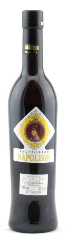 Hidalgo Amontillado Napoleon – 50cl