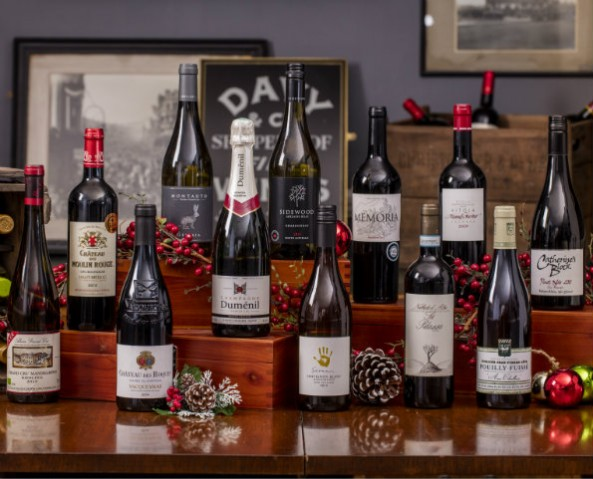 Davy's 'Twelve Wines Of Christmas', Mixed Case Of 12 Bottles